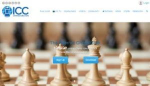Internet Chess Club screenshot